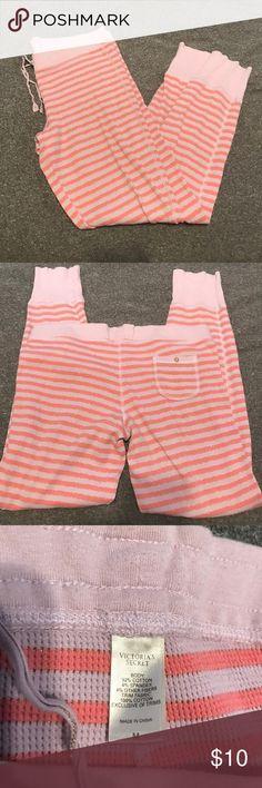 Victoria's Secret Pajama Pants Super comfy thermal like pajama pants from Victoria's Secret. No holes or stains Victoria's Secret Intimates & Sleepwear Pajamas