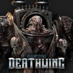 Space Hulk Deathwing - Fallen, Eddy Khaou on ArtStation at https://www.artstation.com/artwork/xwW01