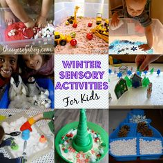 HUGE Collection of Winter Sensory Activities for Kids