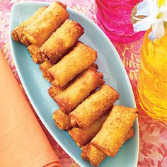 Mini Egg Rolls | Easy-to-Make Luau Food | AllYou.com Mobile
