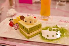 I don't want to eat it, I just want to stare at it and cherish it all day. Because it's Hello Kitty.