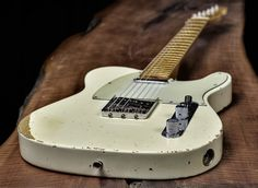 There's nothing like an old Fender Telecaster… Love it.