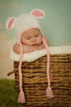 Ready to SHIP   Crocheted Baby Easter by NanasKnottyCreations, $16.99