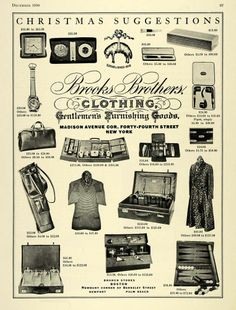 Brooks Brothers Holiday Ad