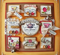 Vintage Tea Time Sampler 002