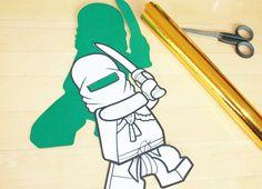 Schultüte Ninjago: coole Schultüte für Jungs! Mit Anleitung und Tipps zum selbst basteln. Für einen unvergesslichen Einschulungs-Tag für Ninjago-Fans.