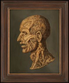 Head Composed of Writhing Écorché Figures Composed in the Manner of Giuseppe Arcimboldo, Wellcome Collection