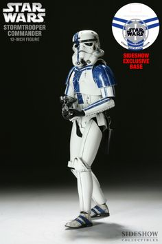 Sixth Scale Figure - Stormtrooper Commander (Sideshow Exclusive - Stormtrooper Commander 12-inch Figure Base) #21931