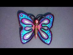 Hobby Ideas : Best out of Waste : Butterfly from Waste CD - YouTube