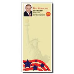 Full Color Notepads | Statue of Liberty