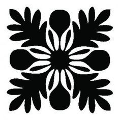 hawaiian quilt tile - Google Search