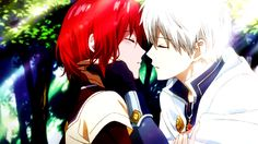 Akagami no Shirayuki-hime - Snow White with the Red Hair - Shirayuki and Zen <3