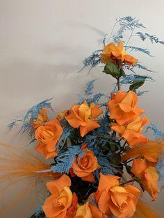 Orange Aesthetic, Flower Aesthetic, My Flower, Flower Art, Design Floral, Luxury Flowers, Floral Bouquets, Dried Flowers, Planting Flowers