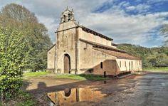 San Salvador de Priesca, Arte Prerrománico - Priesca, Concejo de Villaviciosa, Principado de Asturias