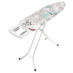 Brabantia strygebræt Dragonfly - Til højre- eller venstrehåndede Ironing Board Holder, Ironing Board Covers, Iron Storage, Steam Iron, Four Legged, Chrome Finish, Cover Design, It Is Finished