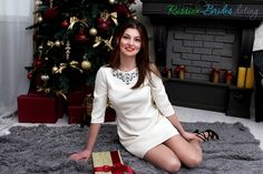 Celebrate Christmas and New Year with your loved ones on Russian-Brides.dating