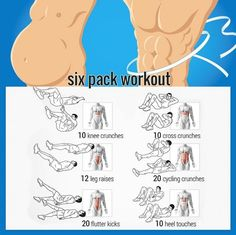 Want Six-Pack Abs? Try These Ab Exercises! Healthy Fitness Train - Yeah We Train !