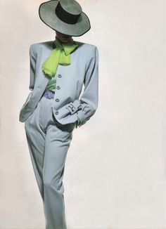 Glorious Couture as Art, Christy Turlington by Irving Penn / Vogue US April 1988