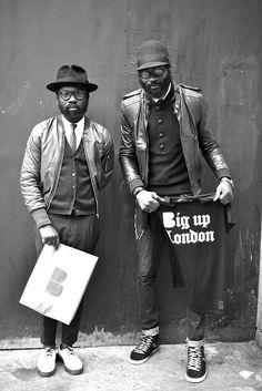 Sam Lambert and Shaka Maidoh | Big up London Photo by D. Pattinson