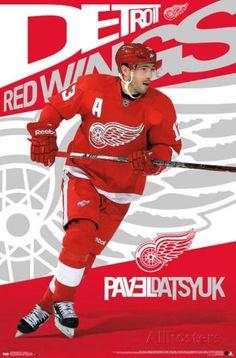 Pavel Datsyuk Detroit Red Wings Posters at AllPosters.com