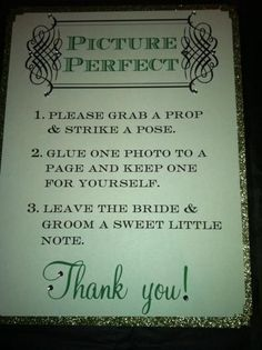 photo booth sign....what an awesome