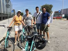 Eventually Cycling Venice Lagoon meets Holland (birthplace of the bikes). Special thanks to our friends from #Tegelen: Gerard, Francie and Geert. Venice Lido bike tour.  Cycling Venice Lagoon