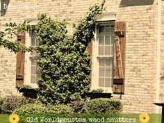 Old World Shutters