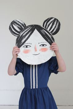 Doll face mask