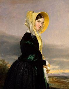 George Peter Alexander Healy (Boston, 1813 -  Chicago,1894) Euphemia White van Rensselaer (1842)   da Li Taipo