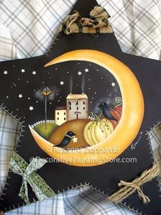The Decorative Painting Store: Autumn Night Pattern by Rosanna Zuppardo