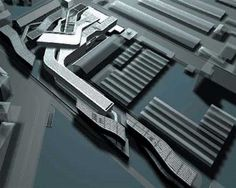 MAXXI Museum -Zaha Hadid – CAD Design | Free CAD Blocks,Drawings,Details