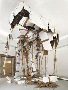 Thomas Hirschhorn at afonso artiaco Sweet Station, T Art, Installation Art, Three Dimensional, Sculpture Art, Contemporary Art, Artsy, Abstract, Gallery