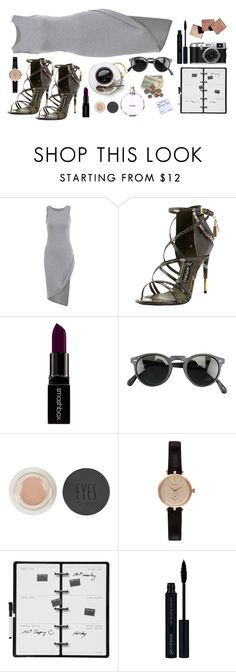 """""""It may be hard."""" by andreavc ❤ liked on Polyvore featuring Tom Ford, Smashbox, Oliver Peoples, Chanel, Topshop, Barbour, Kikkerland, Glo, women's clothing and women"""