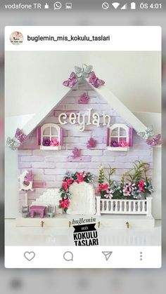 Clay Art Projects, Projects To Try, Decoupage Art, Paper Crafts, Diy Crafts, General Crafts, Baby Art, Mural Art, Clay Creations