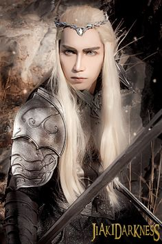 Thranduil from The Hobbit 3 cosplay by Jiakidarkness.deviantart.com
