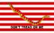 1st Navy Jack ( Don't tread on me flag ) 3ft x 5ft Nylon . $31.25