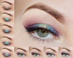 Tutorial on:   http://www.agatawelpamakeup.com/2014/12/byszczaco-i-kolorowo-colorful-and-shine.html
