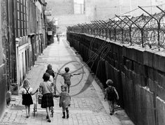 BERLIN WALL, 1964. Stood by the Wall in 1987, right before it came down. Strange, sad, eerie!!