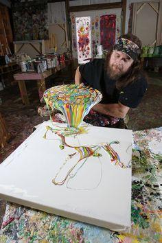 A Quadriplegic Painter Created An Artist Paradise For Artists With Disabilities | #50StatesofArt - Creators
