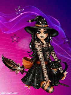 Halloween Facebook Cover, Halloween Gif, Halloween Painting, Halloween Fashion, Halloween Pictures, Witch Pictures, Black Art Pictures, Kobold, Season Of The Witch