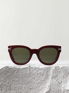 ec4b891183fb Céline New Butterfly Sunglasses in Burgundy Acetate.     Shopping New Ray  Ban Sunglasses