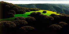 Eyvind Earle, Silent Meadow