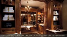 In a house, especially a large house must have a master bathroom. And the master bathroom has a larger size than the other bathrooms. And besides, the master bathroom is designed more elegant and m… Dream Bathrooms, Beautiful Bathrooms, Luxury Bathrooms, Master Bathrooms, Chic Bathrooms, Contemporary Bathrooms, Modern Bathroom, Contemporary Style, Home Interior