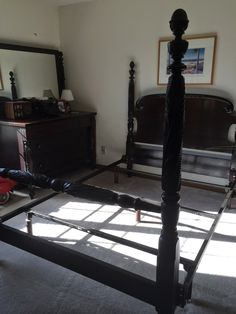 Converting An Antique Bed Frame To Queen Or King Size We
