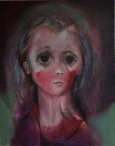 Grazyna TARKOWSKA - Mes quinze ans - Peinture - Huile sur toile