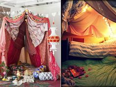 10 Winter Date Ideas - Indoor Camping - Build a Fort... Now I need a date :(