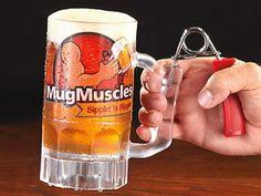 Hand Workout Beer Mug