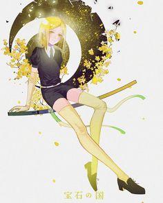 Yellow Diamond - Houseki no Kuni - Image - Zerochan Anime Image Board Otaku, Anime Art Girl, Manga Girl, Aesthetic Art, Cute Drawings, Illustration, Fantasy Art, Original Artwork, Geek Stuff