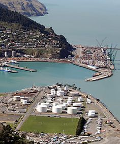 Christchurch's port town of Lyttelton continues to rebuild and become a hub after the devastating earthquake that hit Canterbury in February 2011