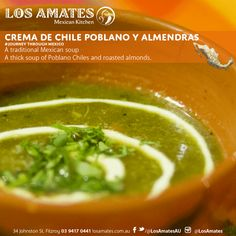 Delicious and Authentic Mexican Food in Melbourne. Enjoy an amazing dinner at Los Amates and a JOURNEY THROUGH MEXICO with our authentic Mexican cuisine. Mexican Kitchens, Roasted Almonds, Kitchen Dishes, Mexican Food Recipes, Melbourne, Dinner, Almonds, Toasted Almonds, Dining